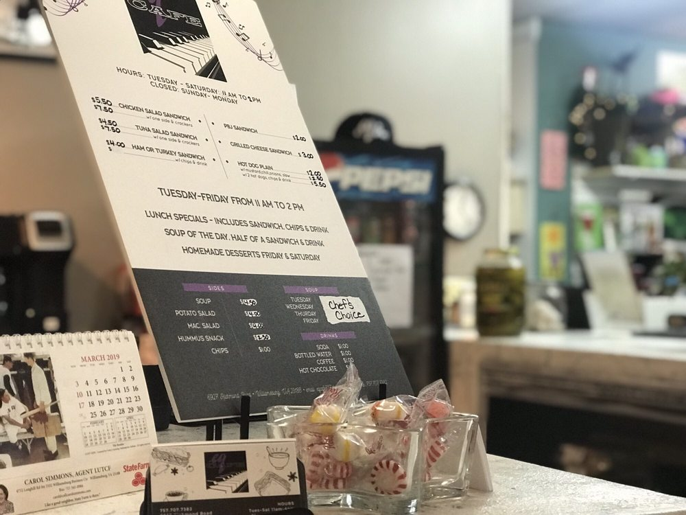 EQ Cafe: 6927 Richmond Rd, Williamsburg, VA