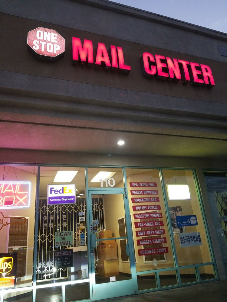 One Stop Mail Center: 5300 Beach Blvd, Buena Park, CA