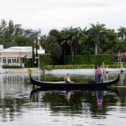 Before The Photo Of Miami Beach Gondolas Fl United States