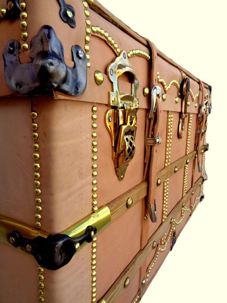 Antique Trunk Restoration & Design