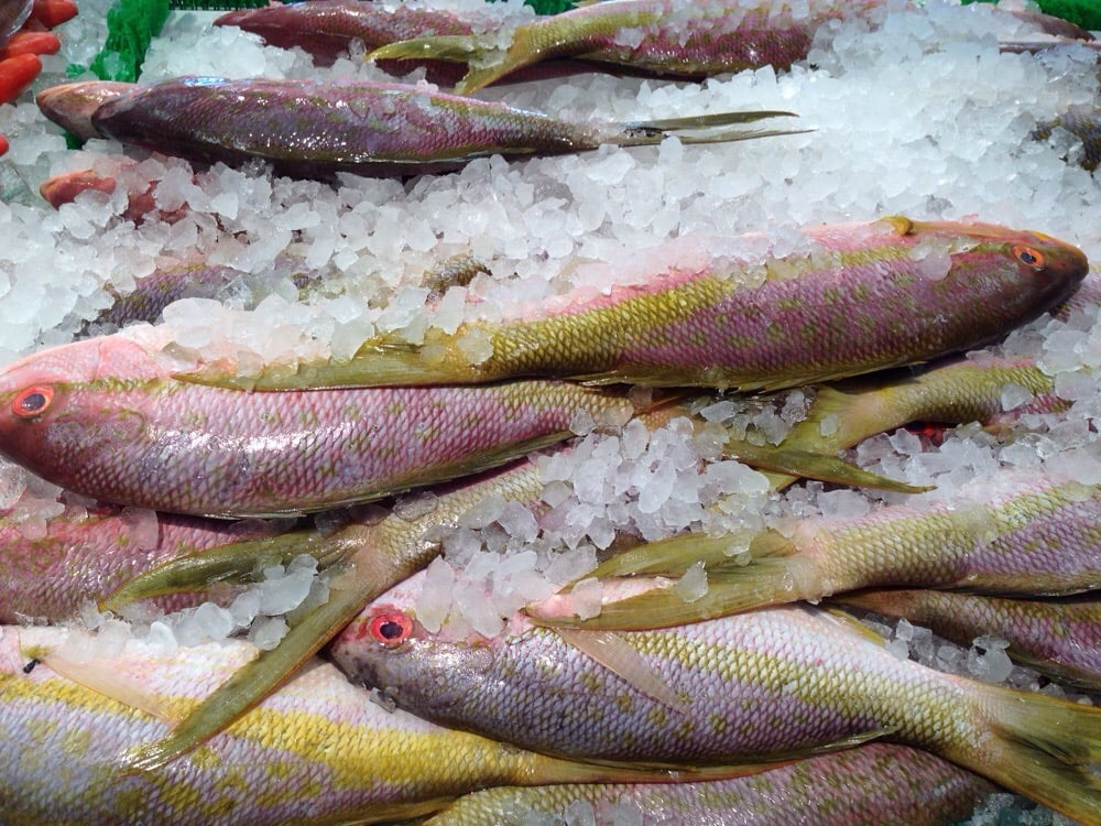 Paterson seafood meat center seafood markets 7 11 for Fish market paterson nj