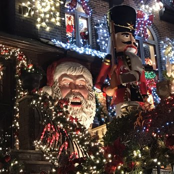 photo of dyker heights christmas lights brooklyn ny united states