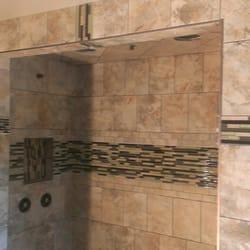 Photo Of Wilsonu0027s Tile Installation Service   Mankato, MN, United States.  Custom Shower