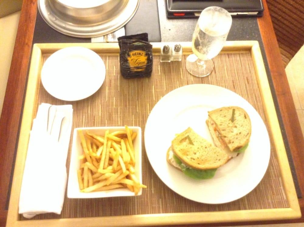 Aninimal Book: Room service: tuna salad sandwich with fries - Yelp