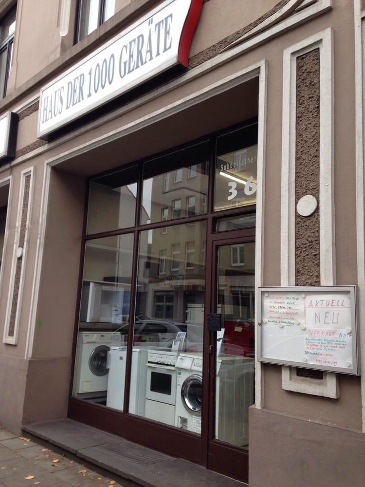 Haus der 1000 Geräte - Haushaltsgeräte Reparatur - Subbelrather Str ...