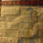 Cracker Barrel Old Country Store Photos Reviews - Cracker barrel us map