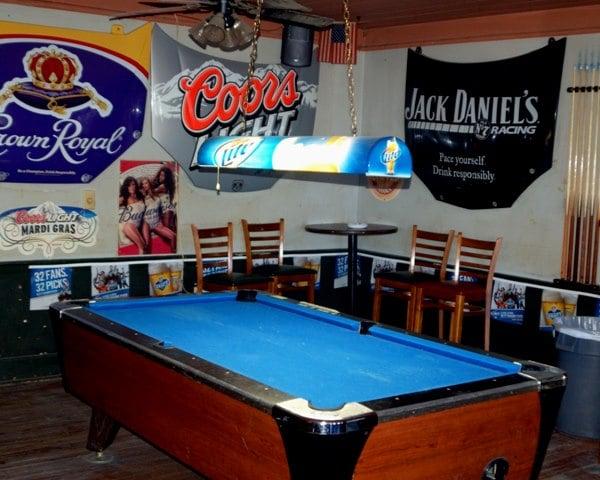 Riverside Bar: 708 Water St, Madisonville, LA