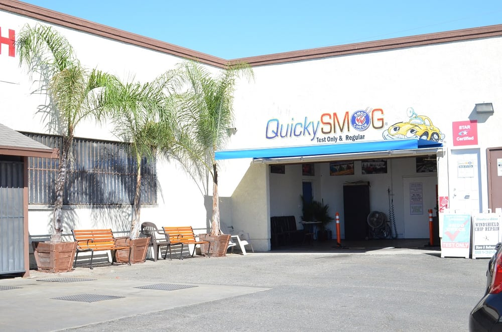 Foothill Quicky Smog: 2016 W Foothill Blvd, Upland, CA