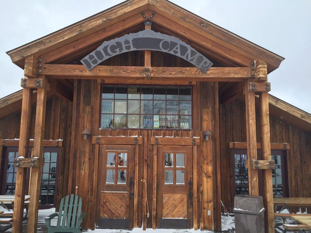 High Camp Warming Hut