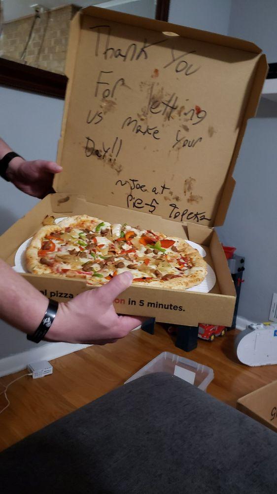 Pie Five Pizza: 1129 Sw Wanamaker Rd, Topeka, KS