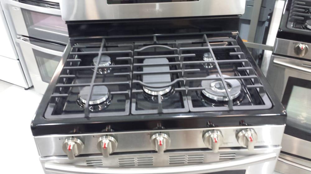 samsung stove 5 burner. photo of hhgregg - bloomingdale, il, united states. 5 burner stove top. samsung