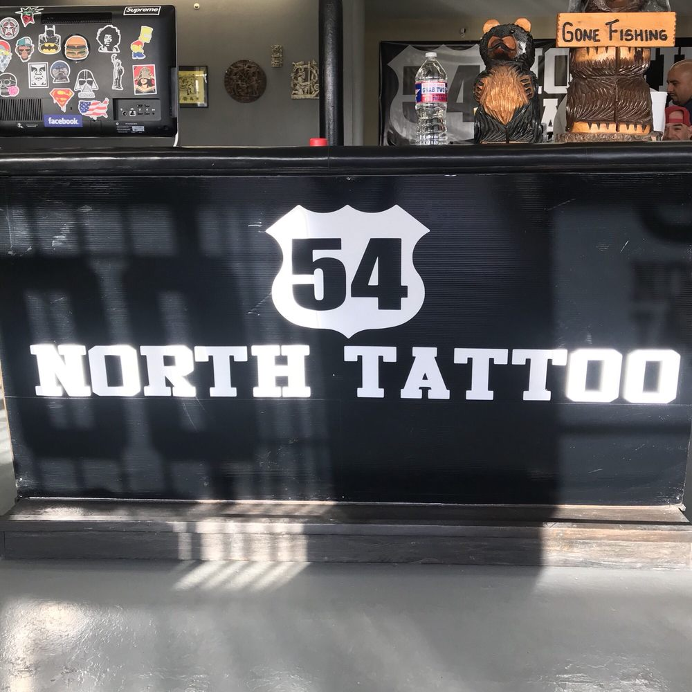 Photo of 54 North Tattoo: El Paso, TX