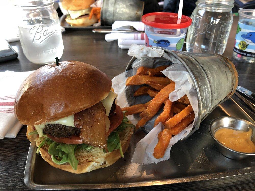 A&B Burgers: 206 Cabot St, Beverly, MA