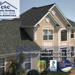 Amazing Photo Of C U0026 C Family Roofing U0026 Siding   Willow Grove, PA, United