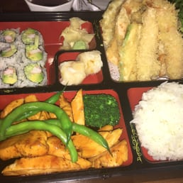 Momoyama Sushi House - Nanuet, NY, United States. Chicken Teriyaki Combination Box!!!