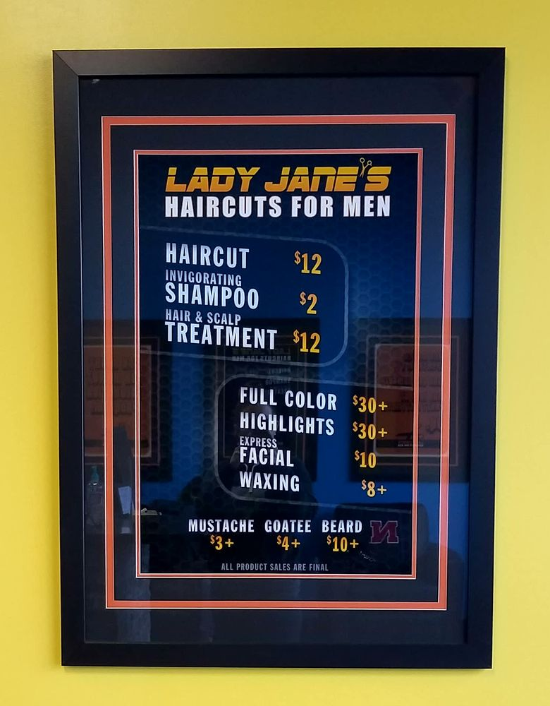 Lady Janes Haircuts for Men: 12411 West Center Rd, Omaha, NE