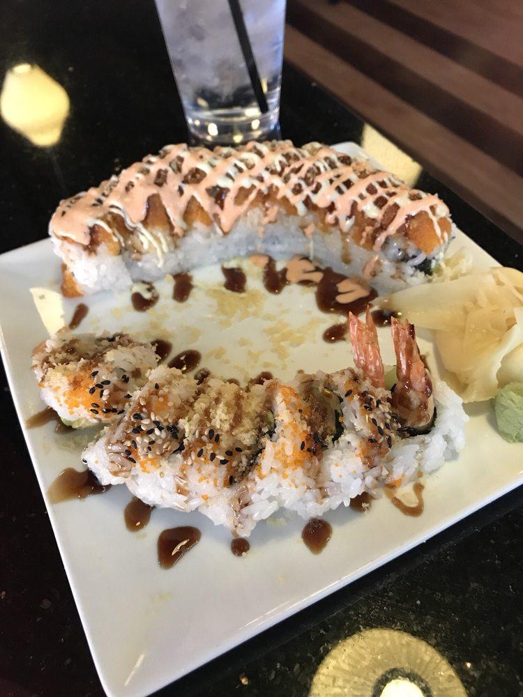 Food from Wasabi Sushi Bar