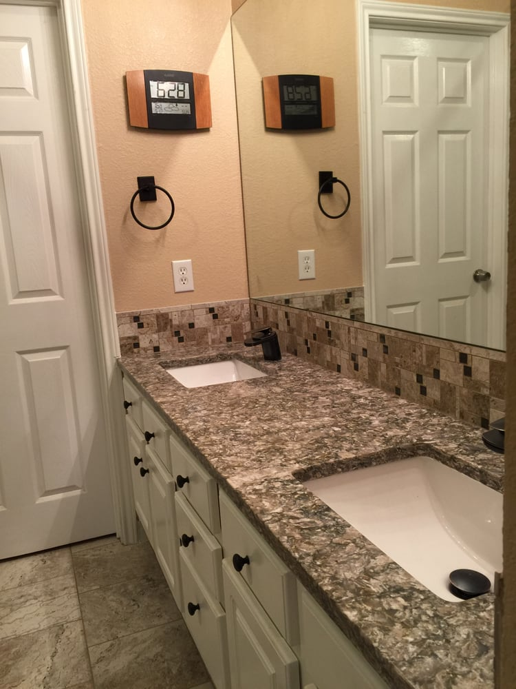 Garden Tub And Shower Conversion To Full Shower With Bench Granite - Bathroom fixtures austin