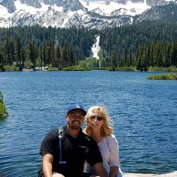 Photo of Twin Lakes - Mammoth Lakes, CA, United States. Twin Lakes from