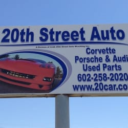 Used Auto Parts Phoenix >> 20th Street Auto Parts Auto Parts Supplies 3244 S 40th