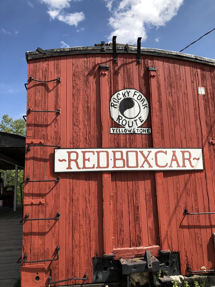 Red Box Car: 1300 S Broadway Ave, Red Lodge, MT