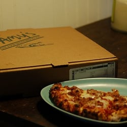 Photo Of Camy S Delivery Memphis Tn United States Barbecue Pizza From
