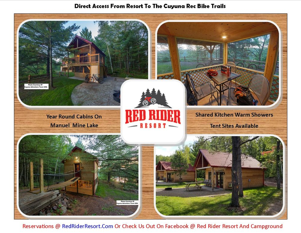Red Rider Resort & Campground: 23457 County Road 31, Crosby, MN