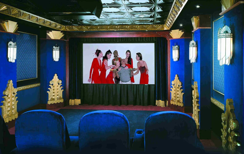 art deco home theater yelp. Black Bedroom Furniture Sets. Home Design Ideas