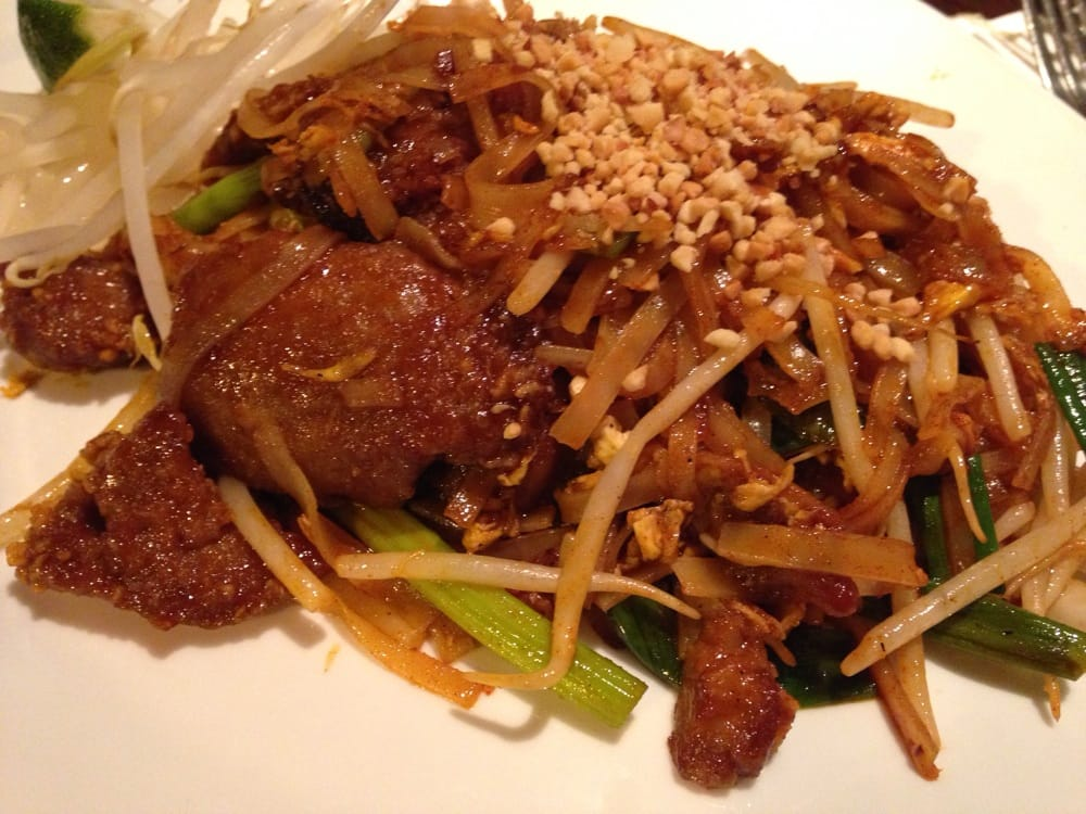 Pad thai with veggie duck yelp for 24 star thai cuisine