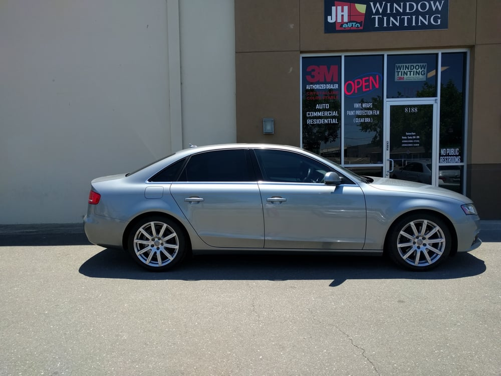 2010 Audi A4 50 Front 20 Rear 3m Color Stable Tint