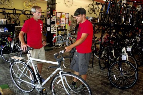 Skinny Wheels Bike Shop: 111 W Innes St, Salisbury, NC