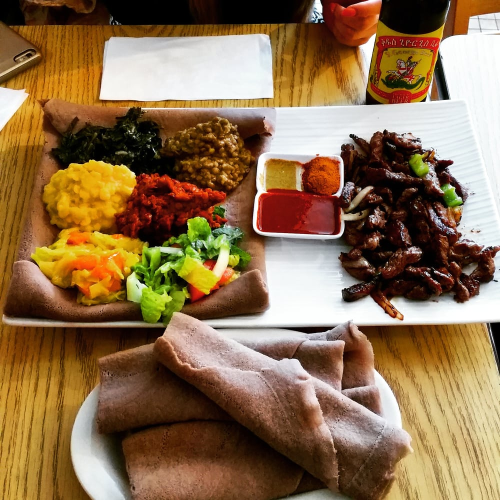 Chercher Ethiopian Restaurant & Mart: 1334 9th St NW, Washington, DC, DC