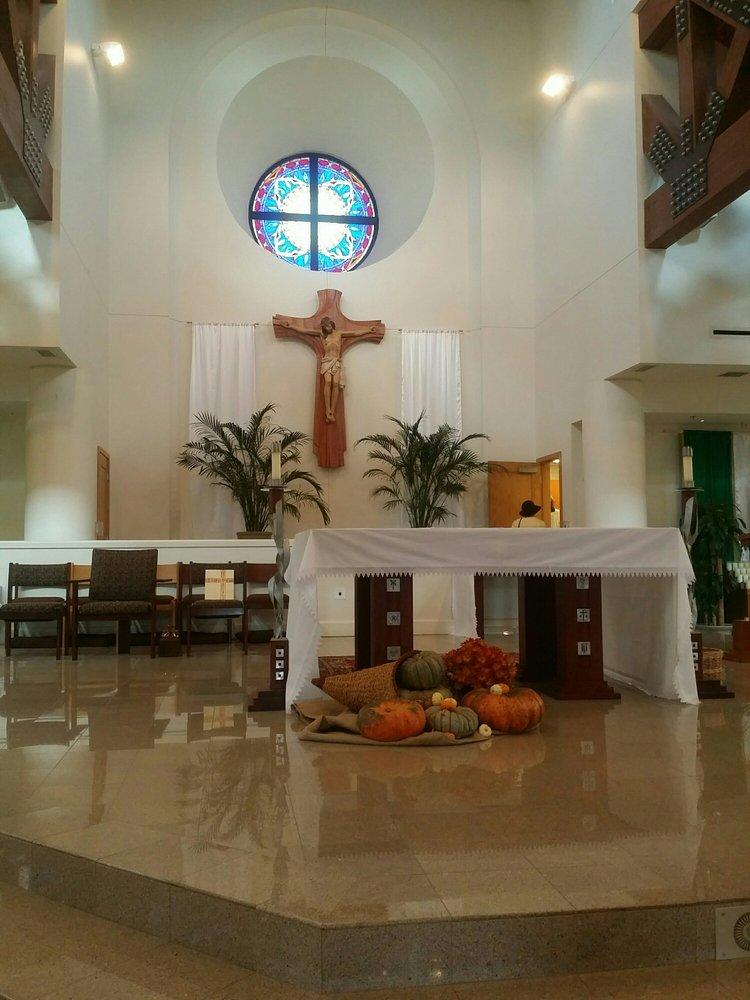 St. Catherine of Siena Catholic Church: 1705 E Peters Colony Rd, Carrollton, TX