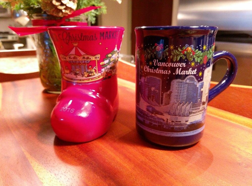 Vancouver Christmas Market Mug.Gluhwein Mugs 2010 2016 Yelp