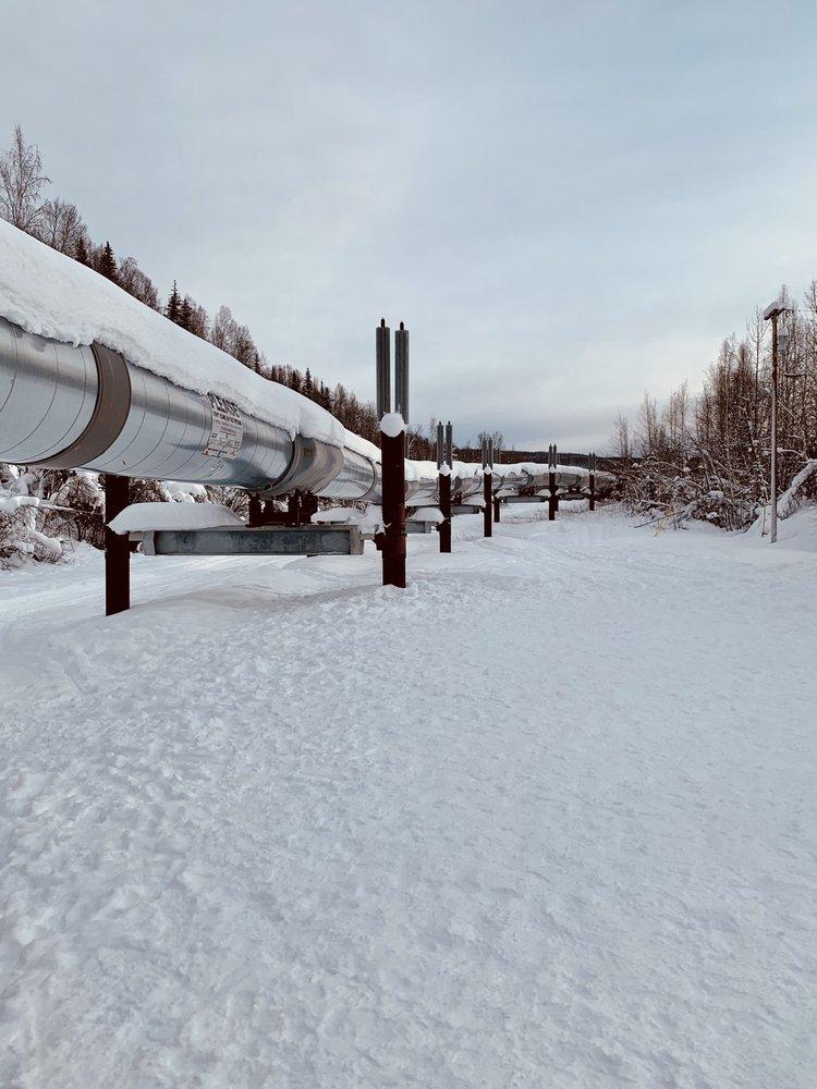 Alaska Pipeline: Steese Hwy, Fairbanks, AK