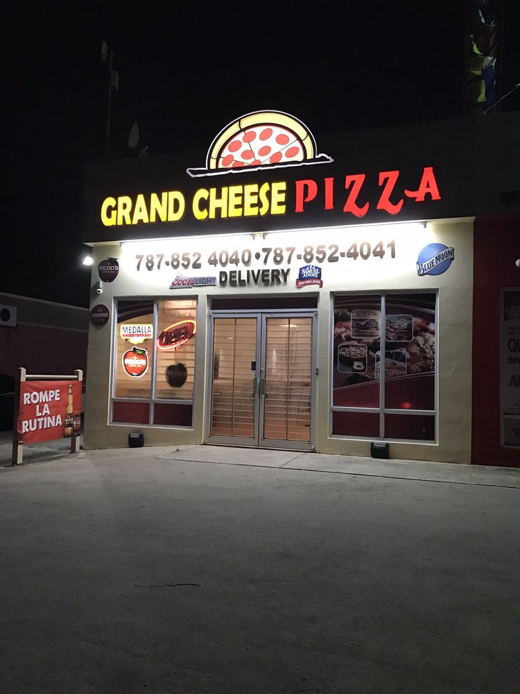 Grand Cheese Pizza: Call 31, Juncos, PR