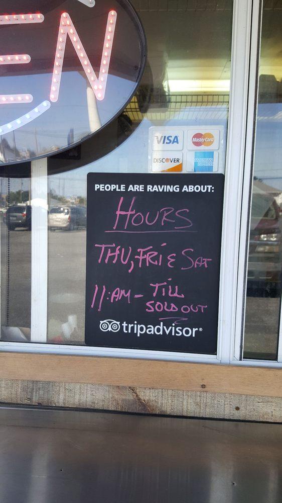 Uncle John's Smokehouse: 914 NW 10th St, Milford, DE