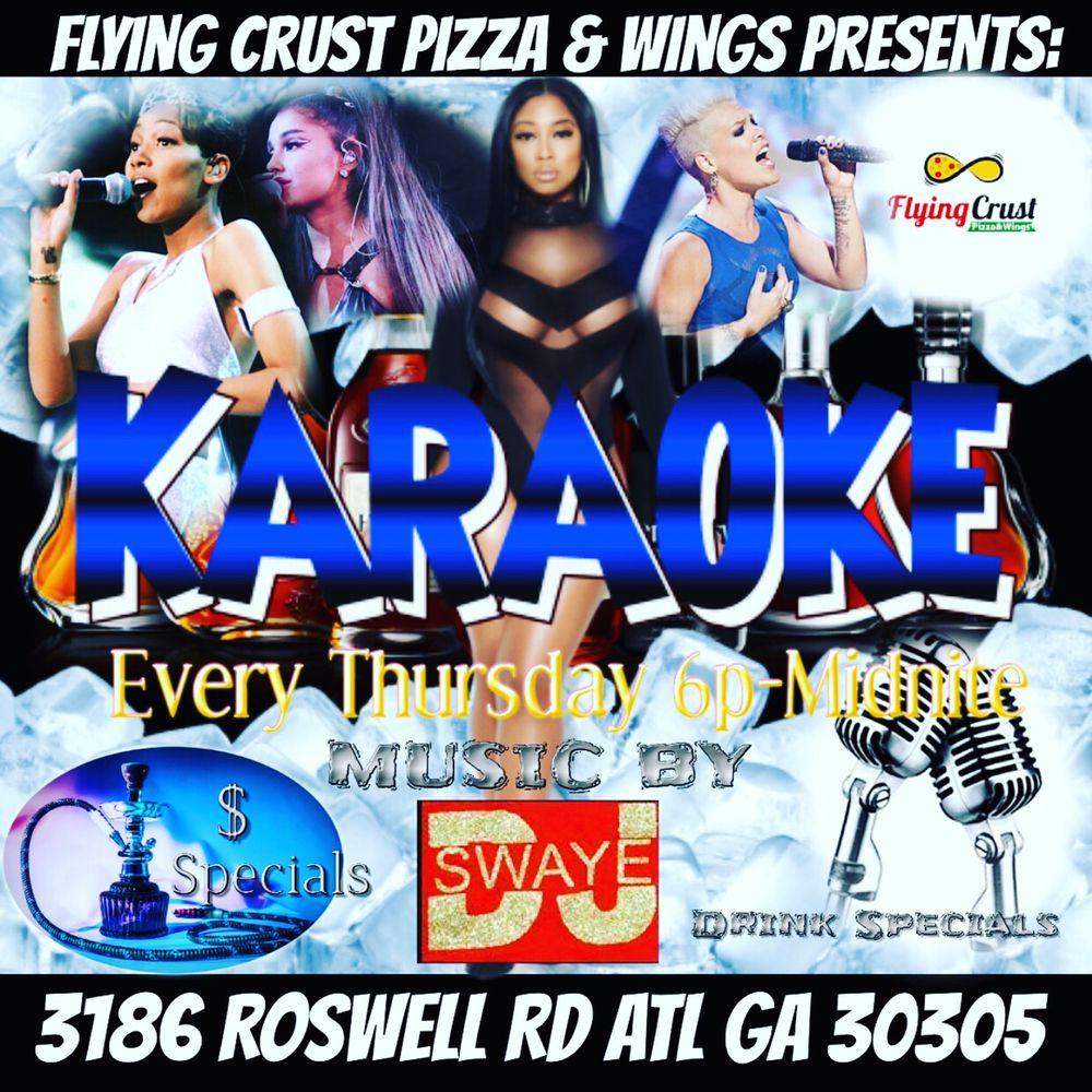 Flying Crust Pizza & Wings: 3186 Roswell Rd NW, Atlanta, GA