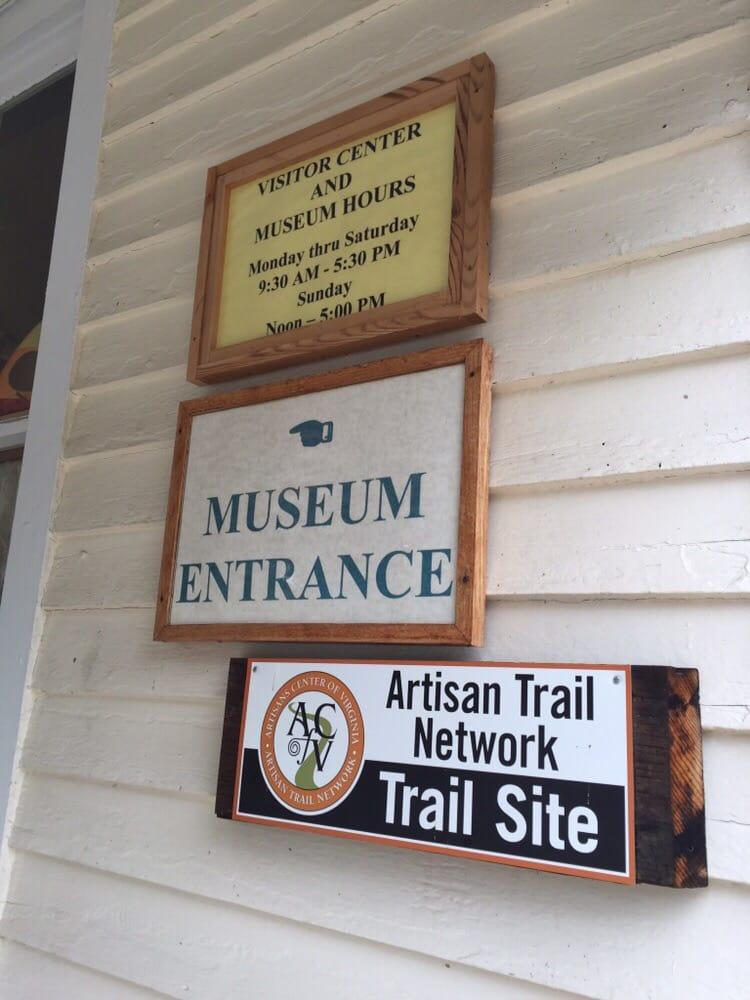 Edinburg Visitors Center At the Mill: 214 S Main St, Edinburg, VA