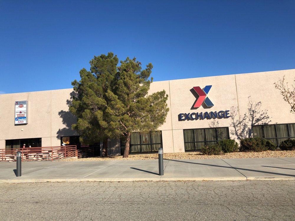 Edwards Base Exchange: 240 W Fitzgerald Blvd, Edwards Air Force Base, CA