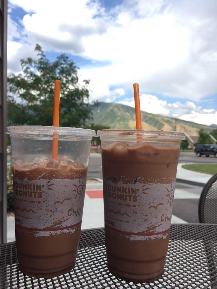 Iced mocha coffee at Dunkin' Donuts in Draper Utah. - Yelp