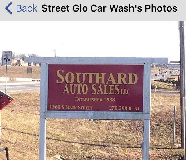 Street Glo Car Wash: 1360 S Main St, Hartford, KY