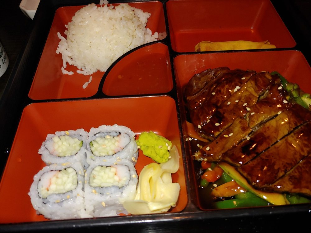 Food from Aki Japanese Steakhouse and Sushi