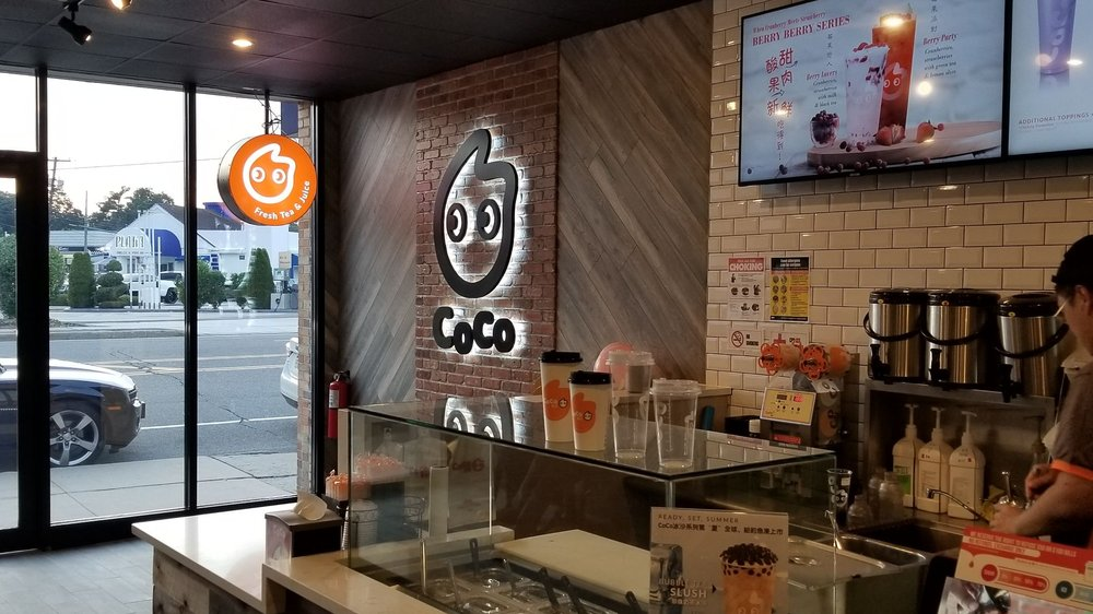 Coco Fresh Tea & Juice: 26 Cold Spring Rd, Syosset, NY