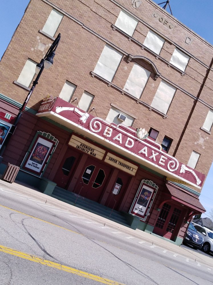 Bad Axe Theatre: 309 E Huron Ave, Bad Axe, MI