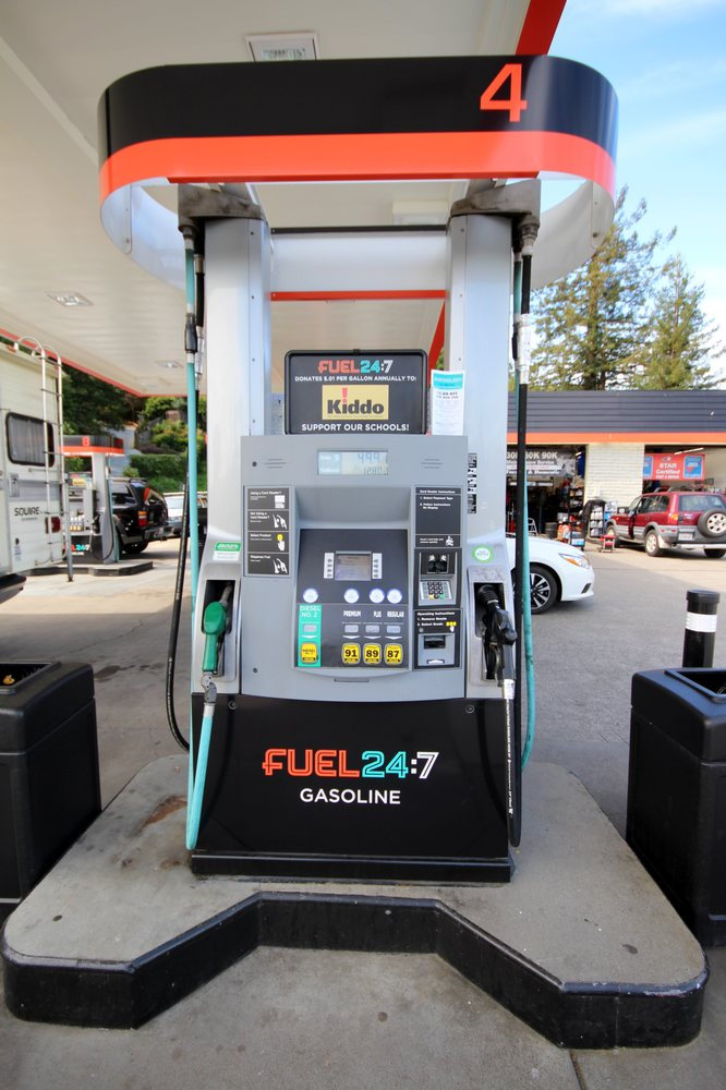 Fuel 24:7 - Miller Ave: 458 Miller Ave, Mill Valley, CA