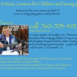 Voice lessons by Ms  Timmaris - Musical Instruments & Teachers - San