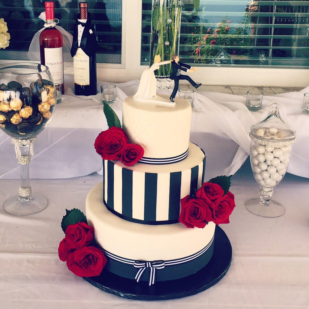 3 Tier Wedding Cake Tres Leches Cake With Vanilla