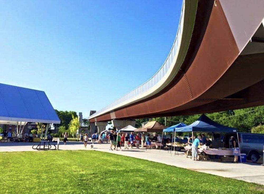 Jeffersonville Farmers Market: Big Four Pedestrian Bridge, Jeffersonville, IN
