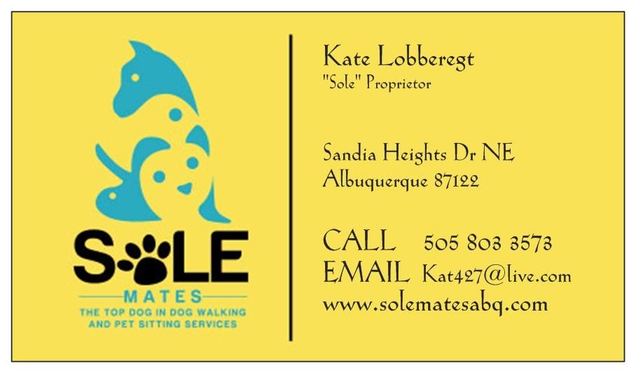 Sole Mates Llc Dog Walkers 4 Sandia Heights Dr Ne Eastside